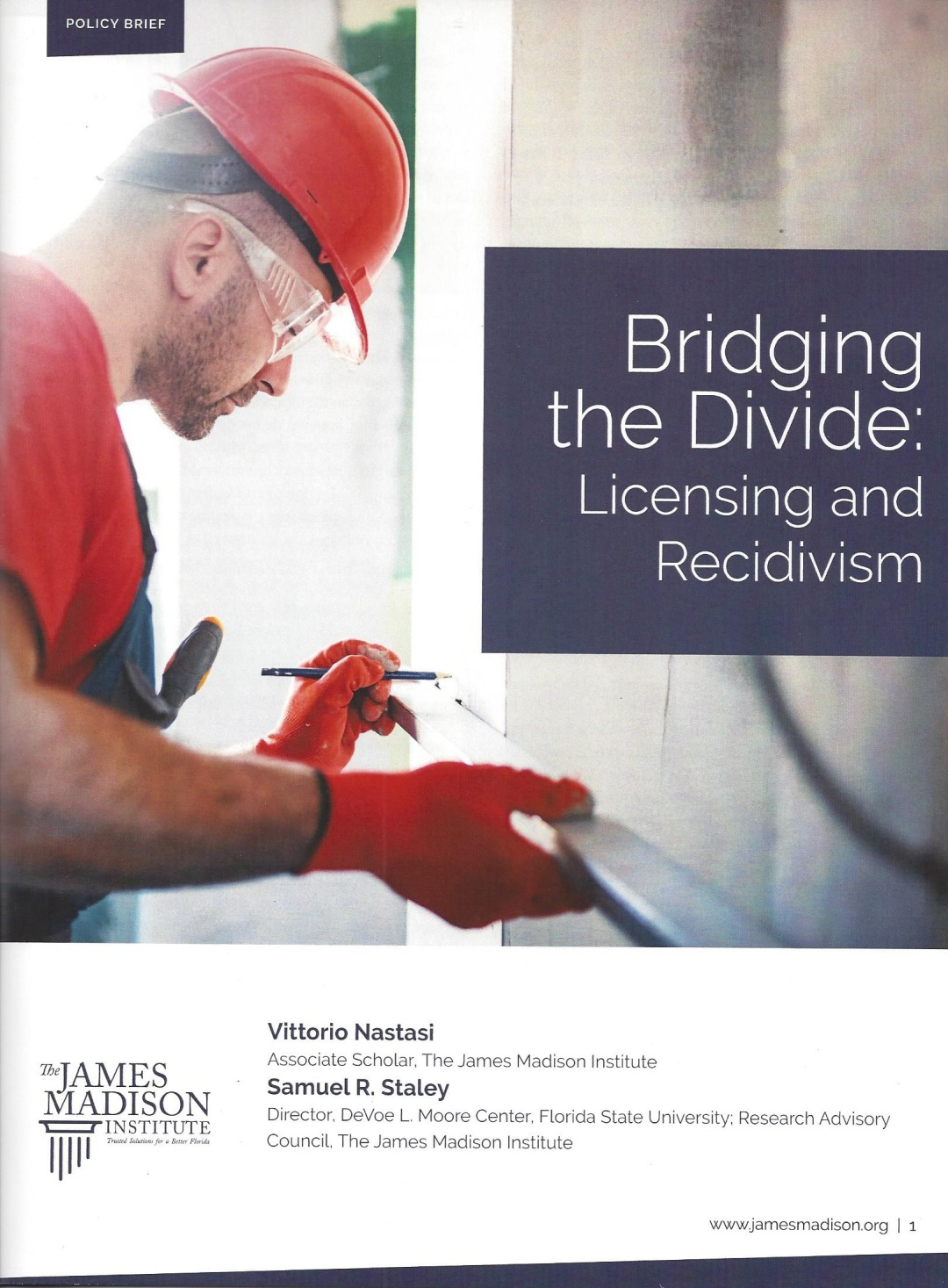 Bridging the Divide: Licensing and Recidivism
